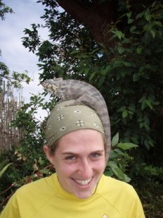 Kyndall exploring biodiversity in Madagascar 2008